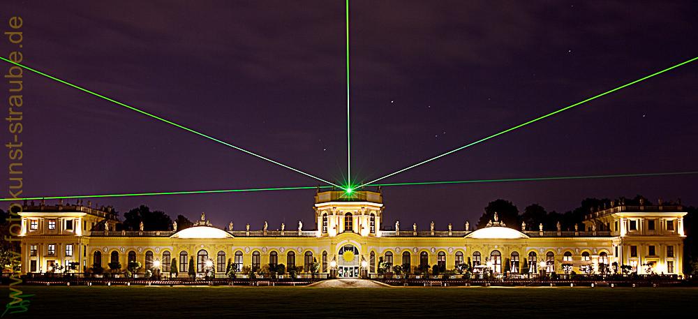 Orangerie Kassel & Laser